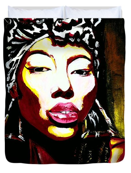 Queen Of Kings Duvet Cover