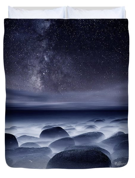 Quest For The Unknown Duvet Cover by Jorge Maia