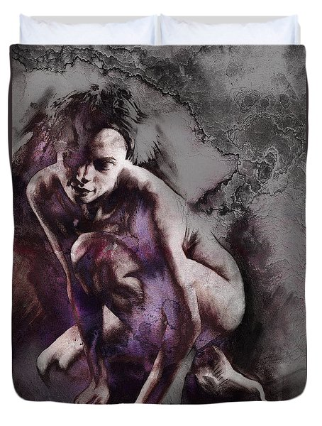 Quiescent With Texture Duvet Cover