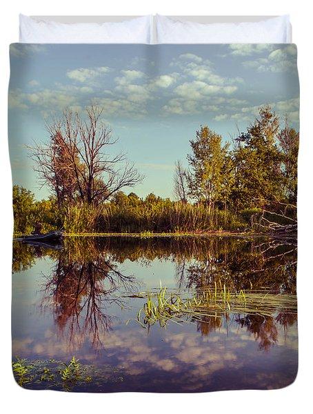 Quiet Morning Duvet Cover