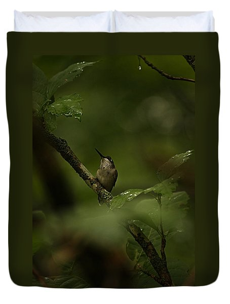 Quietly Waiting Duvet Cover