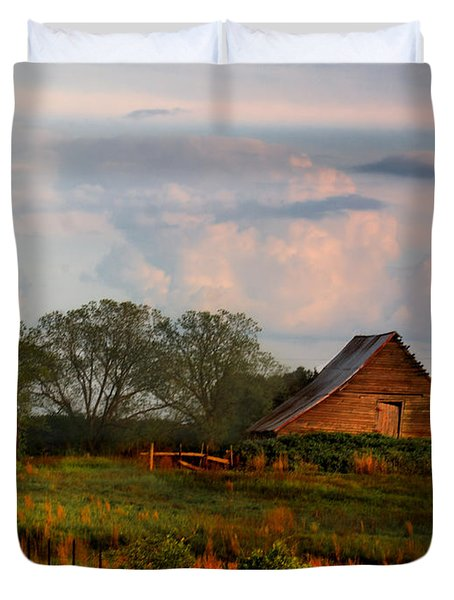 Quintessentially  South Georgia Duvet Cover by Laura Ragland