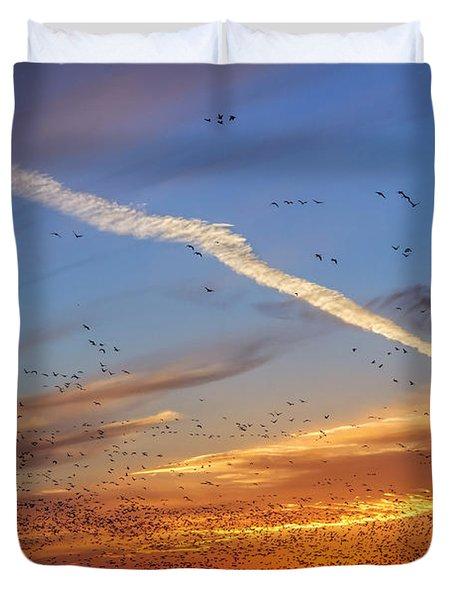 Quivira Sunset 2 Duvet Cover