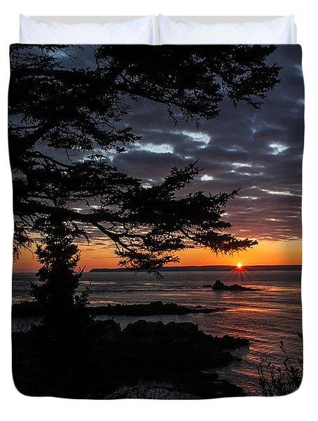 Quoddy Sunrise Duvet Cover
