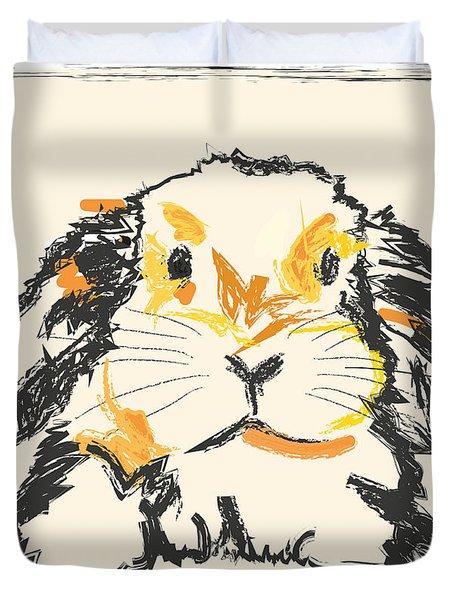 Rabbit Jon Duvet Cover