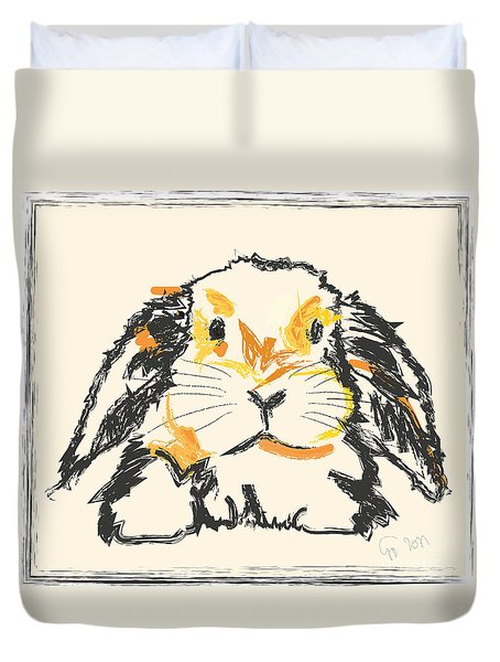 Rabbit Jon Duvet Cover