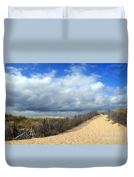 Race Point Duvet Cover