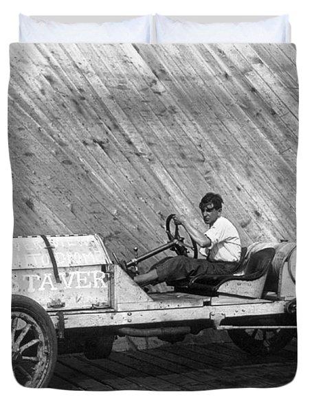 Racecar, C1911 Duvet Cover