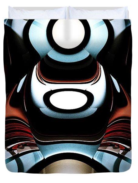 Racer Duvet Cover by Anastasiya Malakhova