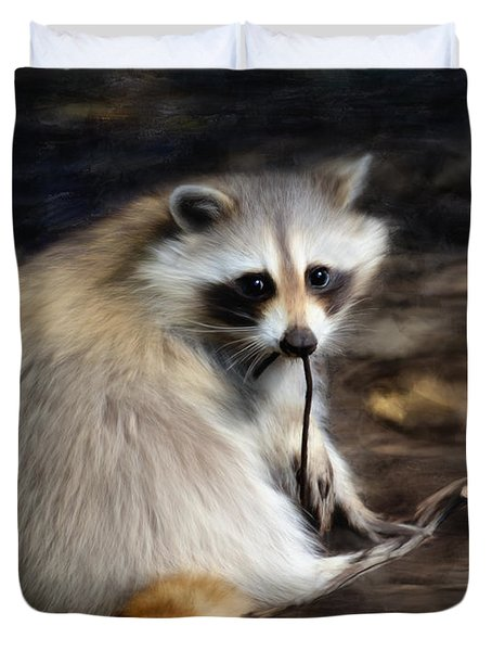 Racoon Duvet Cover