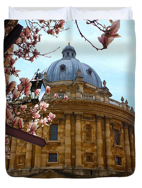 Radcliffe Camera Bodleian Library Oxford  Duvet Cover by Terri Waters