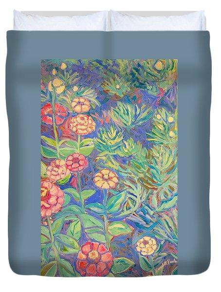 Radford Library Butterfly Garden Duvet Cover