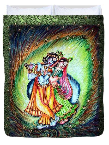 Radha Krishna Duvet Cover