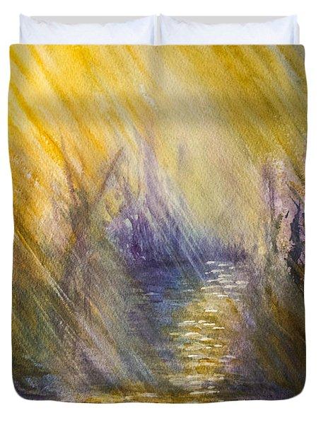 Radiant Hope Duvet Cover
