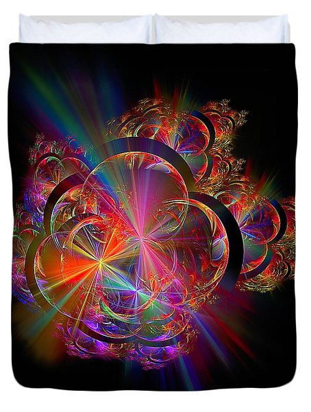 Radiant Rings Duvet Cover