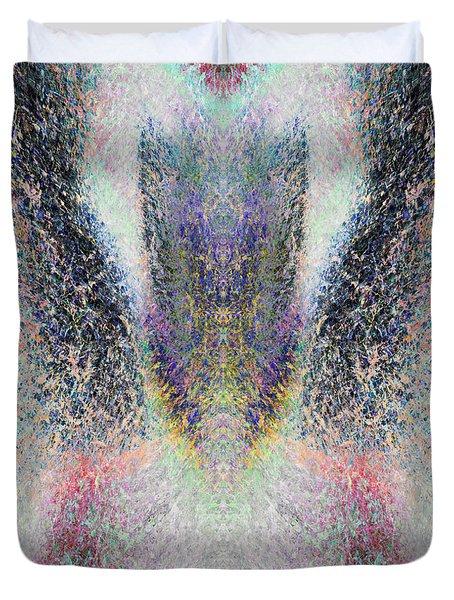 Radiant Seraphim Duvet Cover by Christopher Gaston