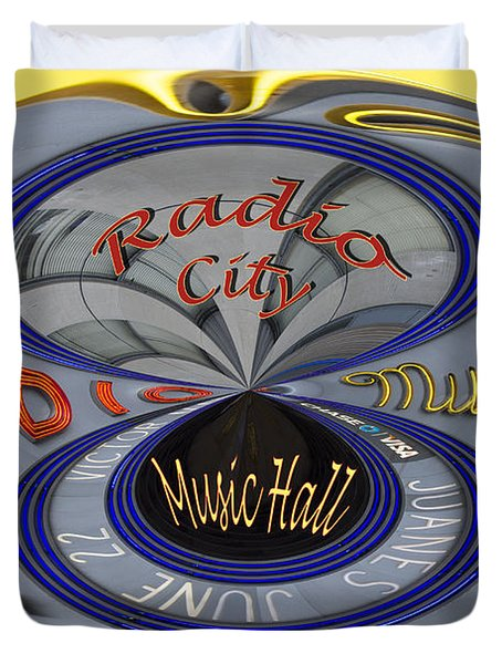 Radio City Duvet Cover by Jean Noren