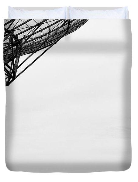 Radiotelescope Antennas.  Duvet Cover