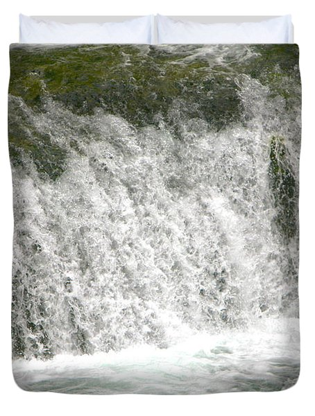 Raging Waters Duvet Cover