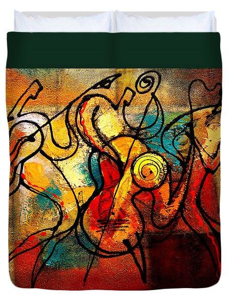 Ragtime Duvet Cover