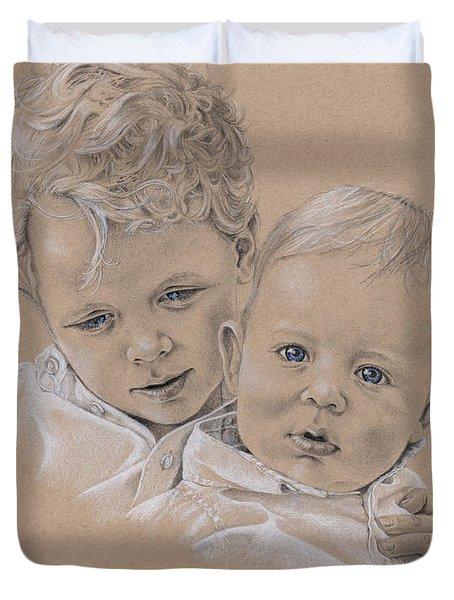 Raife And Harris Duvet Cover