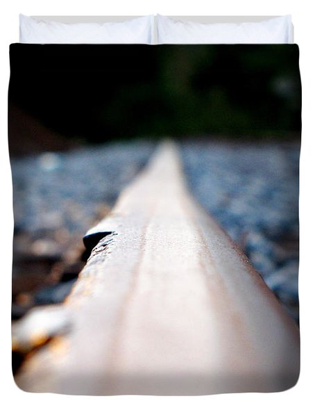 Rail Line Duvet Cover