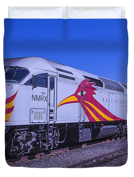 Rail Runner Santa Fe Duvet Cover