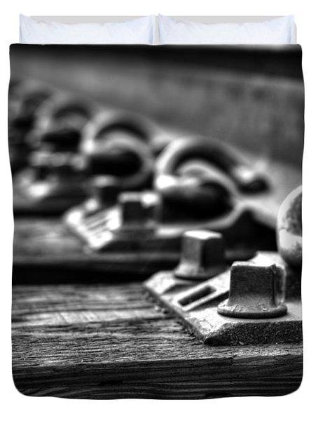 Rail Tie Duvet Cover