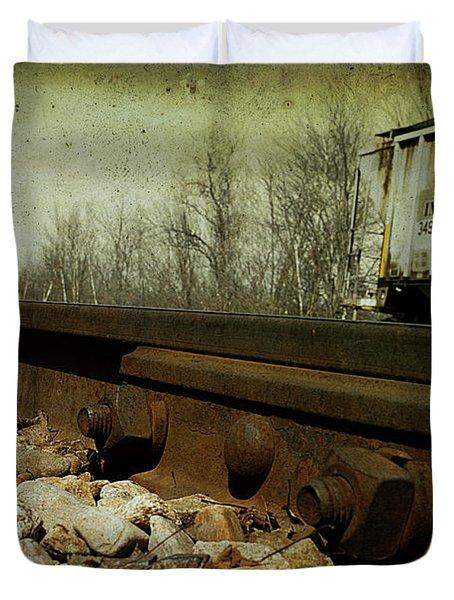 Railroad Bolts Duvet Cover