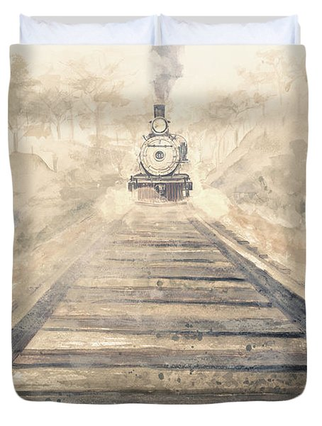 Railway Bound Duvet Cover