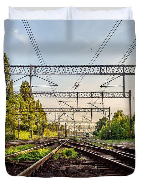 Railway To Nowhere Duvet Cover
