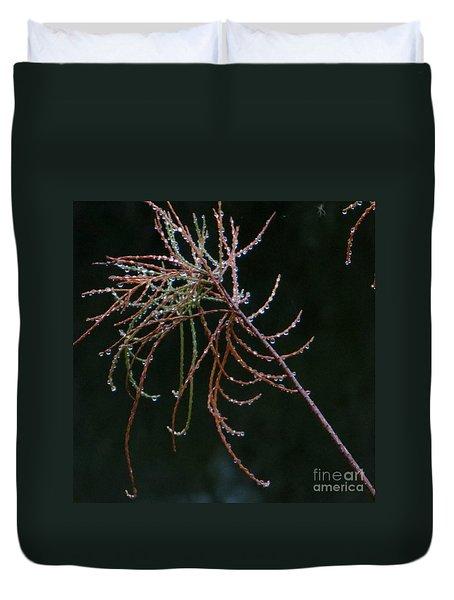 Rain Catchers Duvet Cover by Joy Hardee