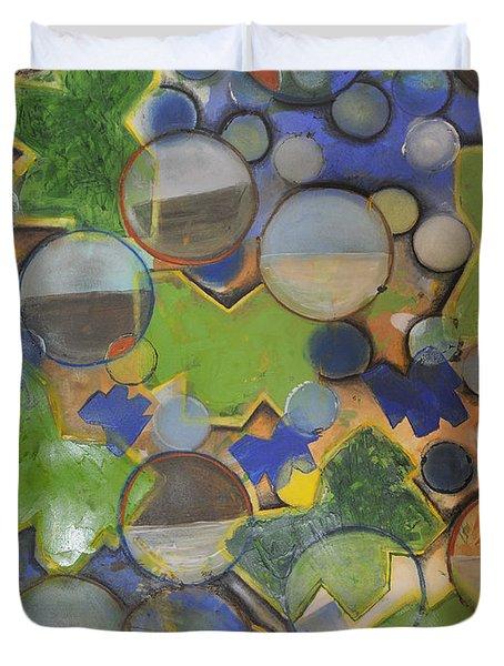 Rain In March Duvet Cover by Mark Jordan