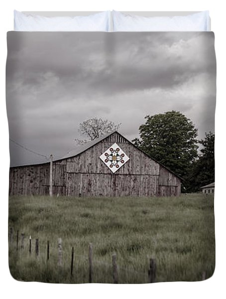 Rain Rolling In Duvet Cover by Heather Applegate