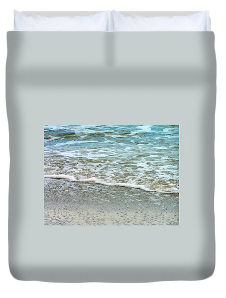 Rain Sea  Duvet Cover