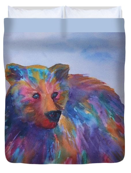 Rainbow Bear Duvet Cover