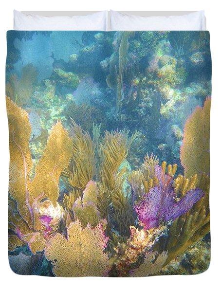 Rainbow Forest Duvet Cover