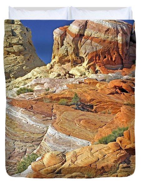 Rainbow Land Duvet Cover
