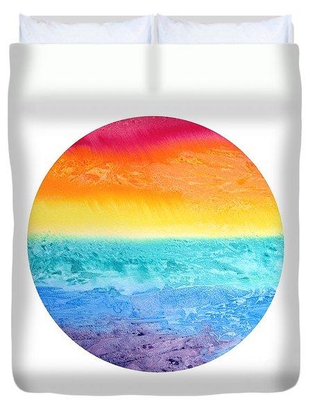 Rainbow Landscape  Duvet Cover