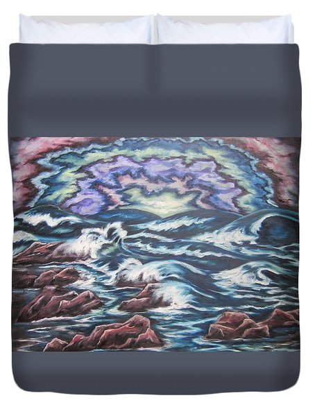Rainbow Skies 2 Duvet Cover