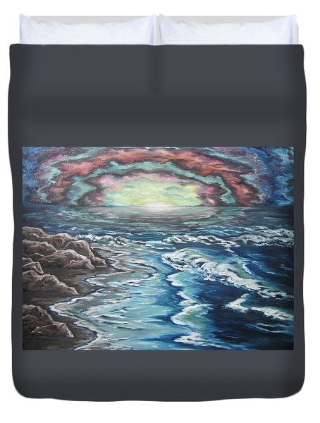 Rainbow Skies Duvet Cover