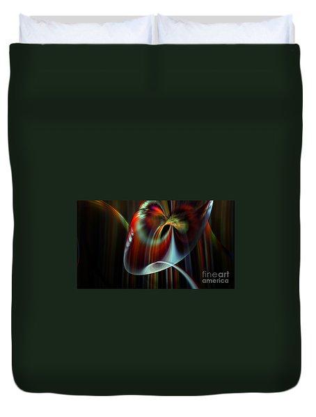 Rainbow Waterfall Duvet Cover by Peter R Nicholls