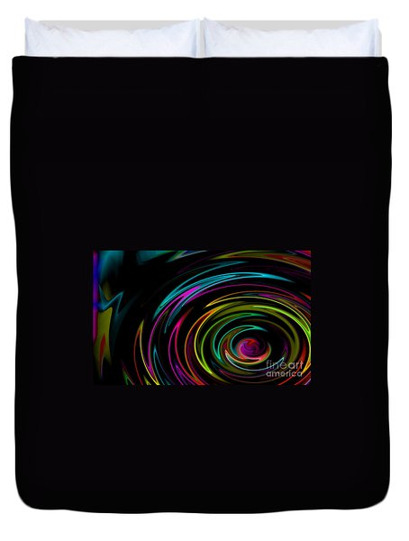 Rainbow Whirlpool Duvet Cover