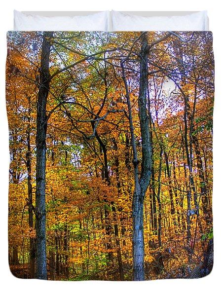 Rainbow Woods Duvet Cover