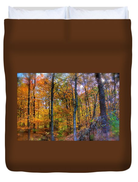 Rainbow Woods Duvet Cover