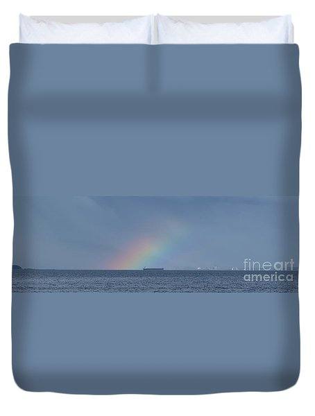 Rainbow's End Duvet Cover