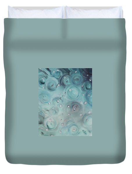 Raindrops Duvet Cover
