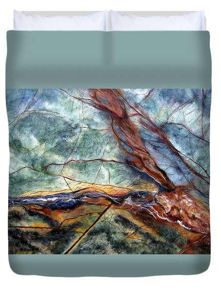 Rainforest I Duvet Cover