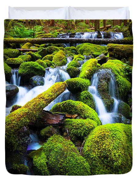 Rainforest Magic Duvet Cover
