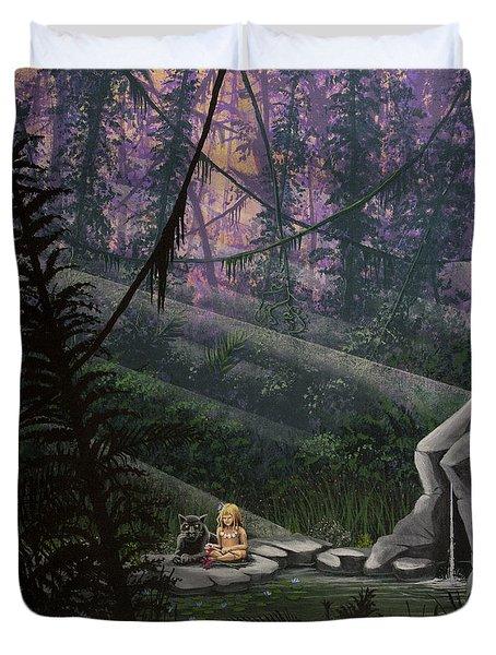 Rainforest Mysteries Duvet Cover